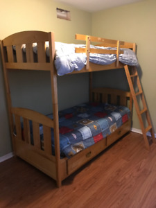 Maple Bunk Bed Buy And Sell Furniture In Ontario Kijiji Classifieds