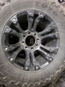 Ford f250/350 fuel rims and toyo tires