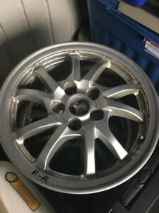 TOYOTA PRIUS V , ALLOY WHEELS FOR SALE :