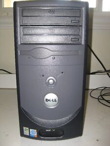 Dell mid tower with Fresh Windows XP and warranty