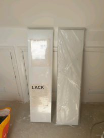 2 x IKEA LACK Wall shelf, white 110x26 cm. Price for both.