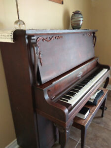 Antique Lansdowne Nordheimer Piano