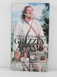 The Capture Of Grizzly Adams VHS Movies