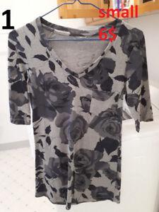 Vêtements femme xsmall-medium (1e Partie)