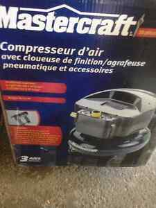 NEW Mastercraft Air Compressor Complete kit