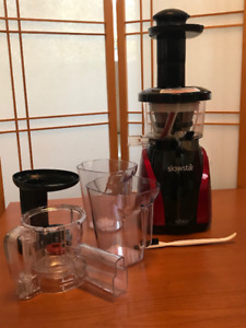 Tribest Slowstar Juicer and Mincer