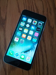 Iphone 6 16GB - Bell/Virgin . Excellent Condition