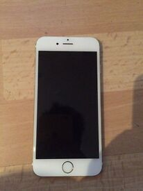 iPhone 6 16gb white and gold