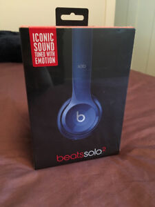 Brand New Unopened Beats Solo2 Blue $120