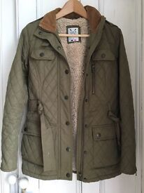 Ladies crew clothing quilted jacket