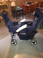 Cosco TWIN STROLLER  excellent condition