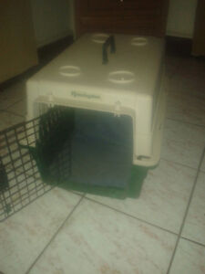 PET TRAVEL CRATE (A1 COND) FOR CAT OR DOG, CALL #226 344 5107