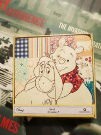 Winnie the Pooh Disney Coaster Set