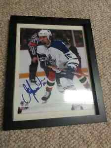 toronto maple leafs signed darcy tucker picture