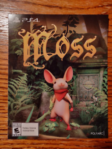 """""""Moss"""" - PS4 game"""