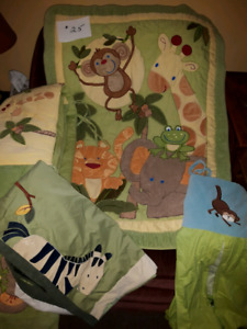 Full crib bedding set