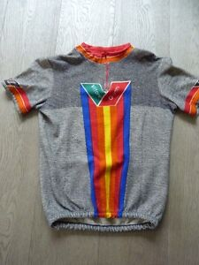 Vintage Wool Vittore Giannia Cycling Jersey