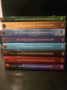 Les Chevaliers d'Émeraude - Anne Robillard Tomes 1 ,2,4,5,6,8