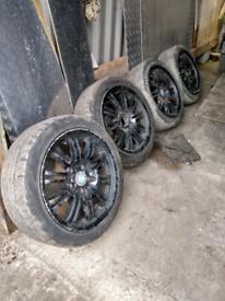 """17""""BMW M Sport Alloy Wheels"""