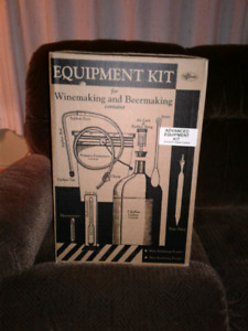 Winemaking and beer making kit