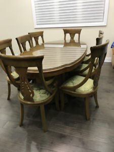 Designer Dining Table with Chairs