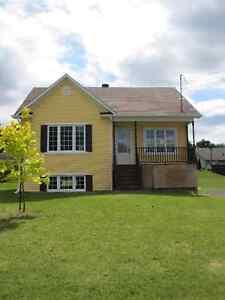 Maison neuve (2012) à louer ou à vendre