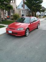 1997 Honda Civic Si Coupe 5 speed