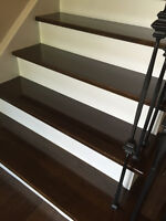 Stairs Refinishing and Hardwood Installation