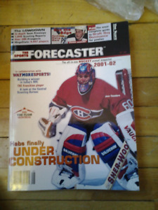 HABS UNDER CONSTRACTION MONTREAL CANADIENS SPORT FORECASTER 2001