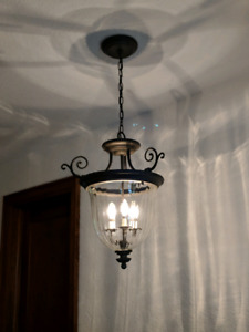 Beautiful foyer pendant light