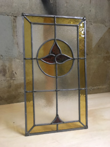 STAINED GLASS HANGING WINDOW ART