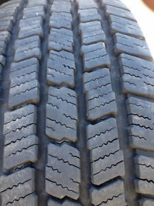 """4 17"""" ford rims with tires size 265/70/17"""