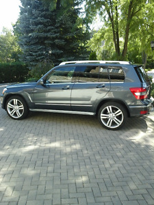 2011 Mercedes-Benz GLK-350 With Snow Tire Package