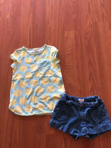Size 6t girl summer suit