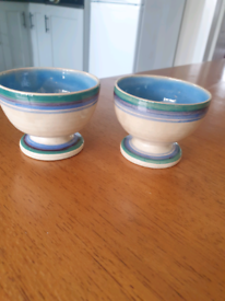 Pair of cute pots.