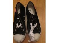 Converse type shoe. New. Size 8