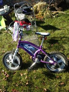 Girls 14.5 in tire bicycle