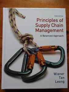 NEW: Principles of Supply Chain Management (w/ access card)- $90