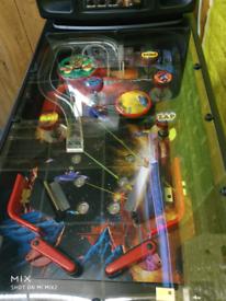 Alien Assault pinball