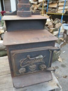 Crafted Wood Stove - $300