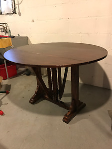 Double Folding Leaf Table