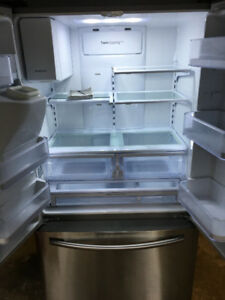 "2015 Samsung 36"" stainless steel fridge"