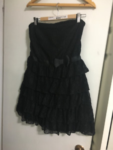 Dynamite strapless lace cocktail dress size 11, holiday party!