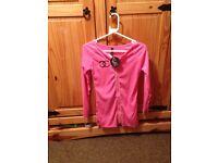 Chanel pink zip dress
