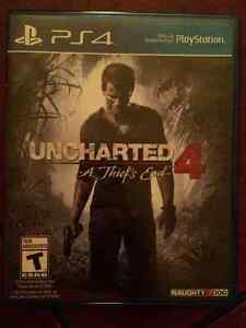Used Uncharted 4 - ps4