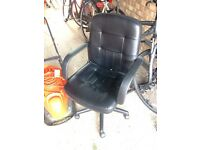Leather Feel Office Chair