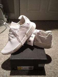 "Adidas NMD ""R1 Triple White"" - $240 - Size 10"
