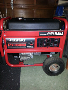 Husky 5700 Watt Generator Yamaha powered