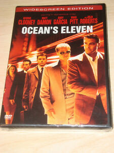 Ocean's Eleven - BRAND New Unopened DVD -Widescreen Edition Kitchener / Waterloo Kitchener Area image 1