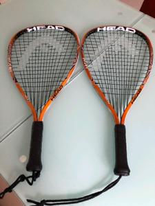 Head racquetball rackets